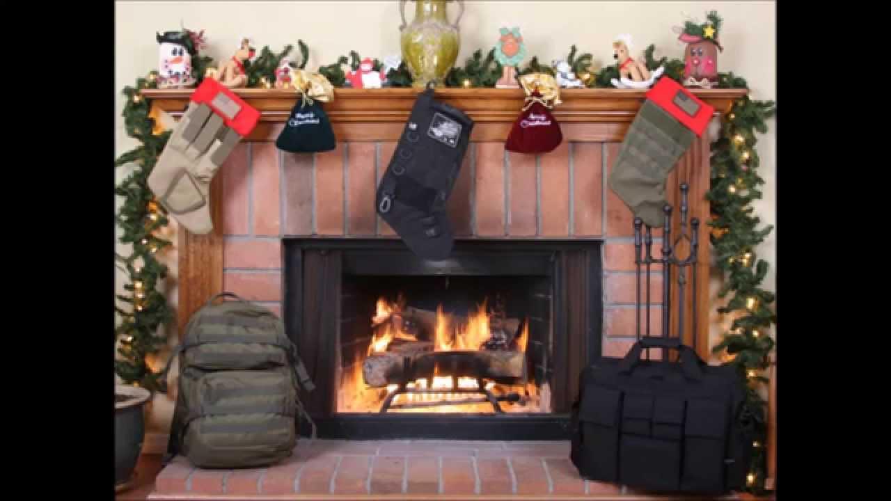 Tactical Holiday Christmas Stocking