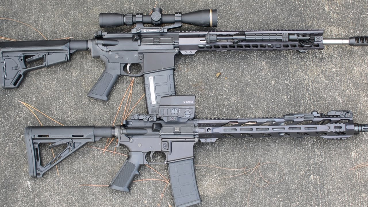 AR-15 Vs. AR-10 Things to Consider!