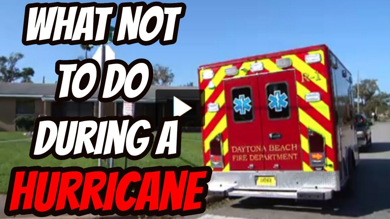 What Not To Do During A Hurricane| Generator Safety Tips