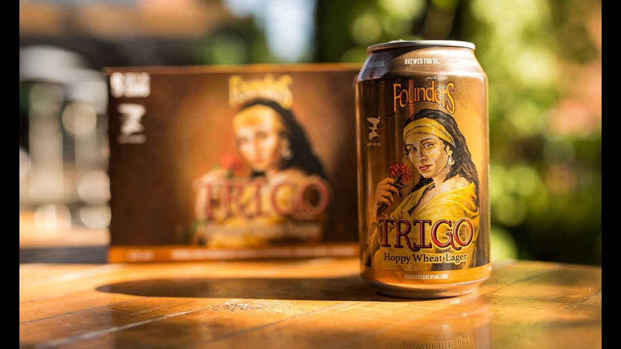 TRIGO Hoppy Wheat Lager from Founders