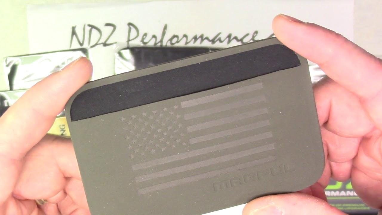 Custom Magpul DAKA EDC Wallets Laser Engraved by NDZ Performance