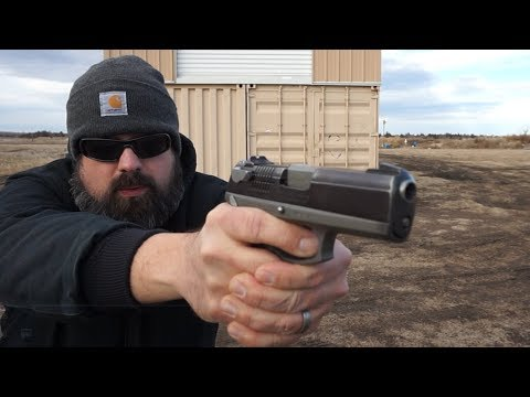 Ruger P94 Range and Accuracy Test! .40 S&W