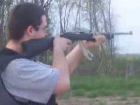 Really Old Video of Me Shooting My Ruger 10/22