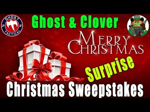 Ghost & Clover LIVE:  Christmas Surprise Sweepstakes Announcement:  Link in Description