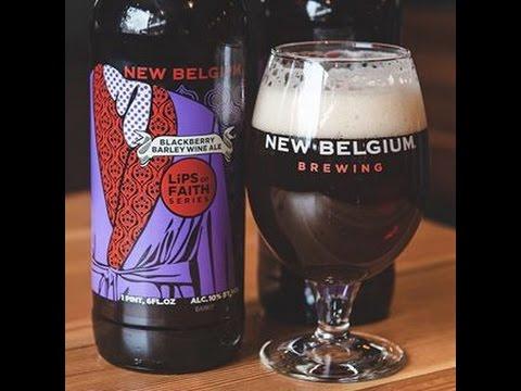 BLACKBERRY BARLEY WINE from New Belgium