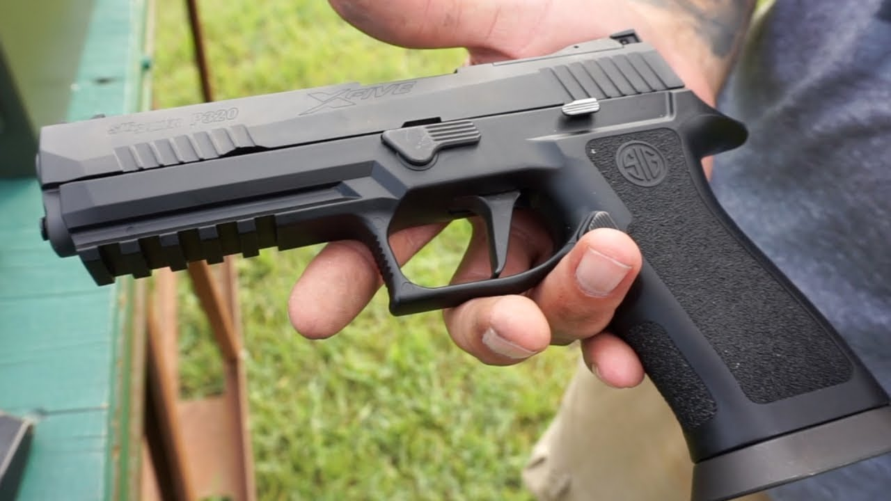 Sig Sauer P320 X Carry // This MOD is EPIC