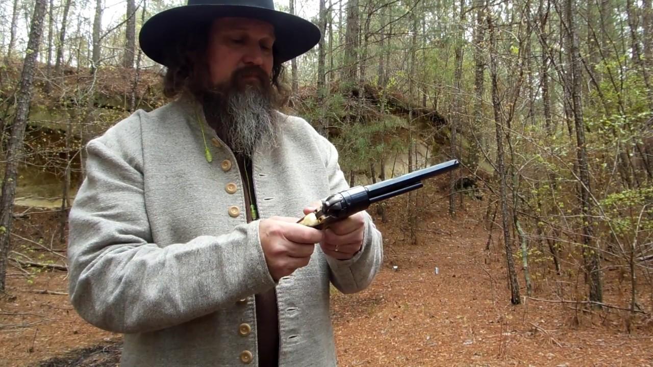Colt (Pietta) .44 cap and ball Kirst .45 Colt conversion