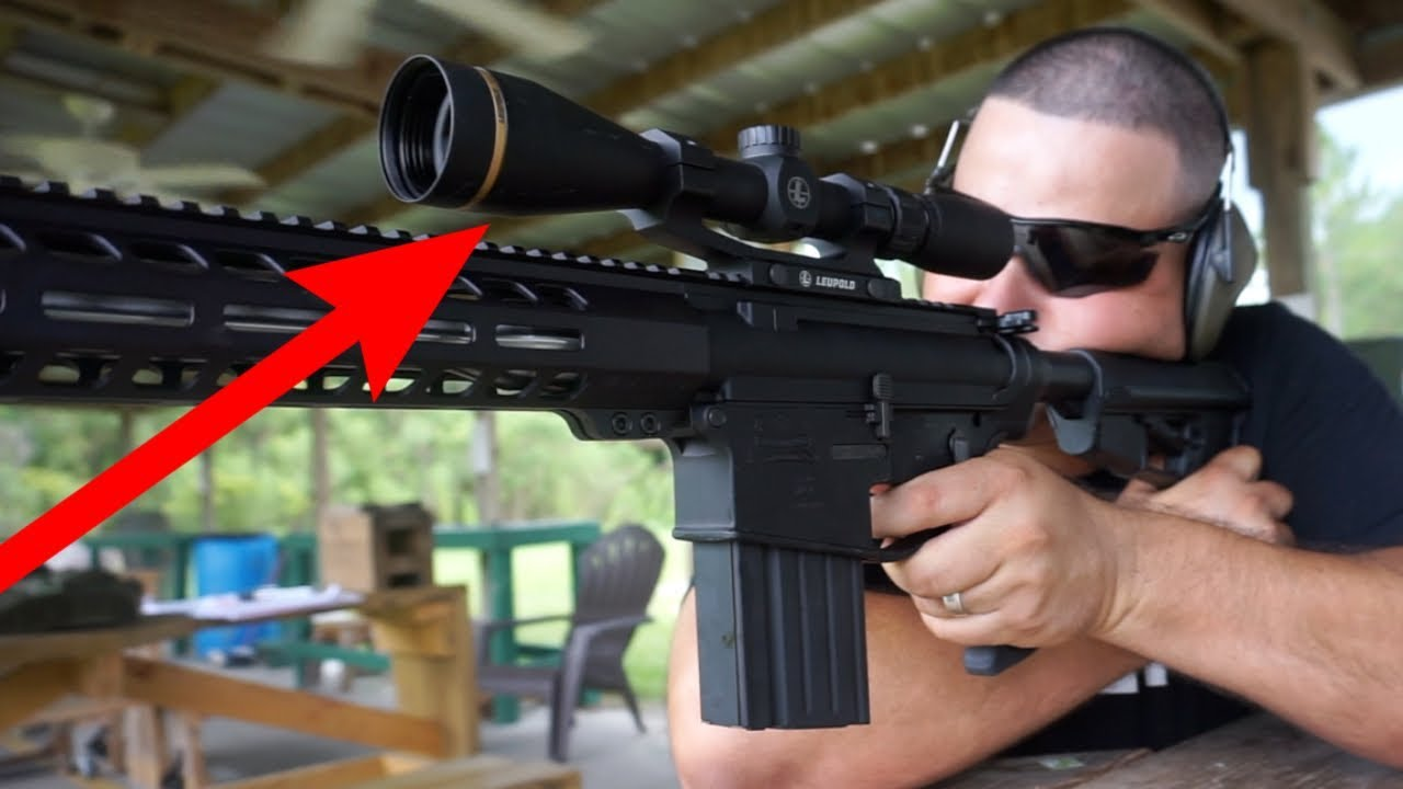 Why You Need an Optic for Your Rifle!