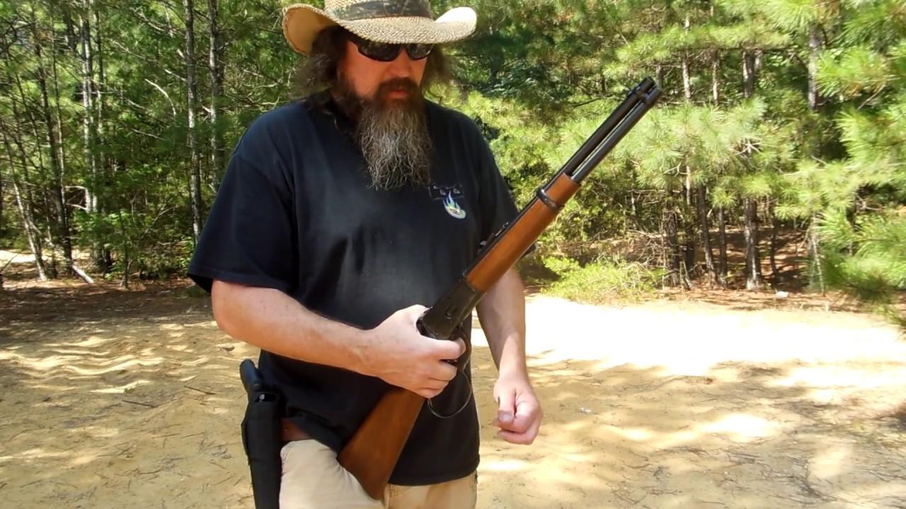 Rossi 92 .45 Colt & Buffalo Bore Deer Grenades