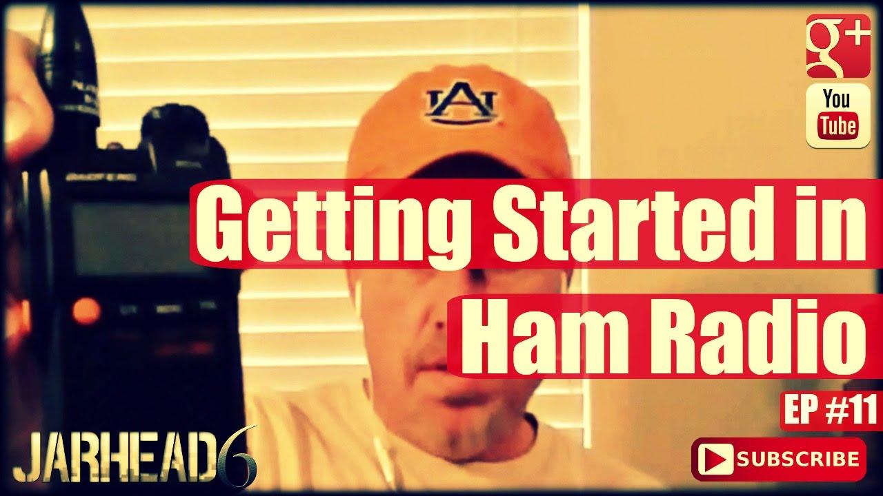 Getting Started in Ham Radio ( Radio Show: EP #11)