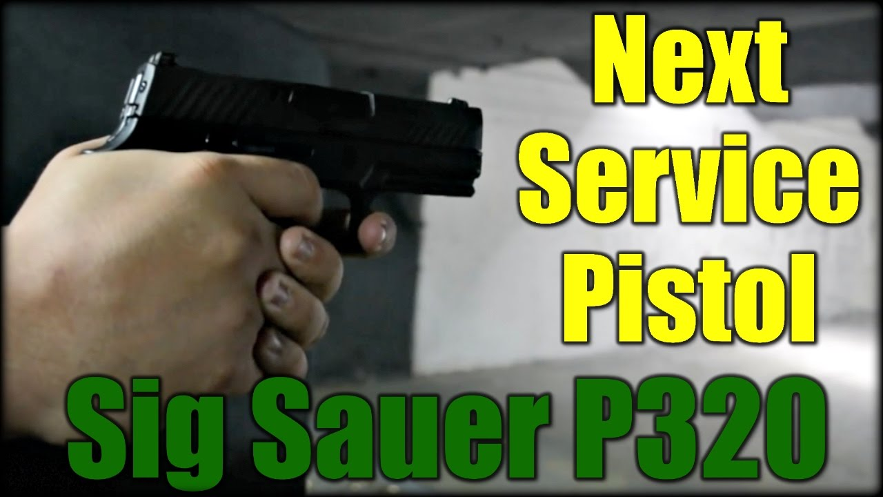Army Chooses The Sig P320| Next Service Pistol