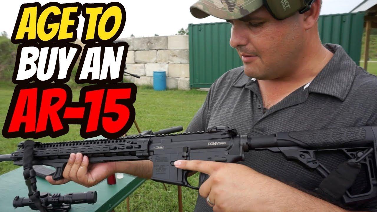 Raising Minimum Age to Purchase an AR-15