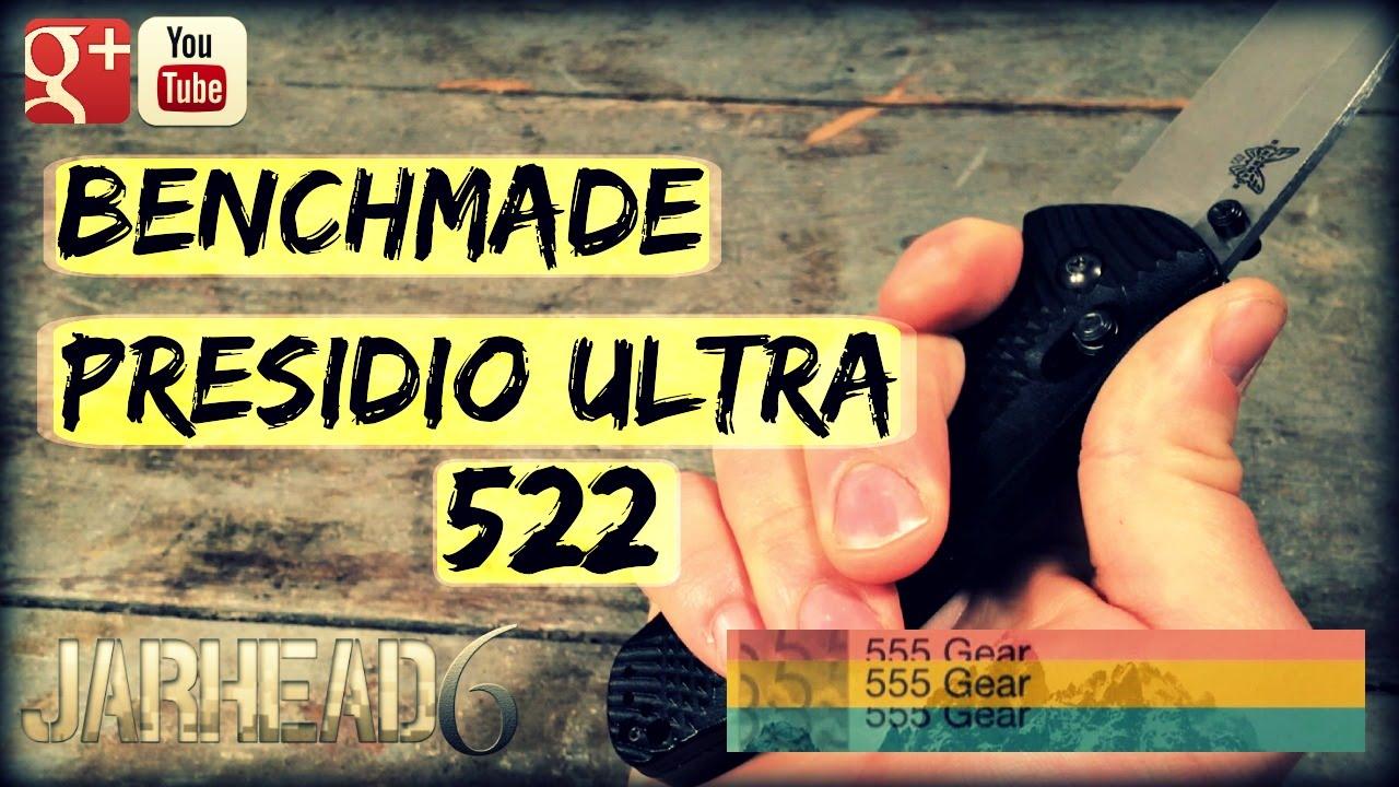 Tactical Folding Knife? Benchmade Presidio Ultra 522