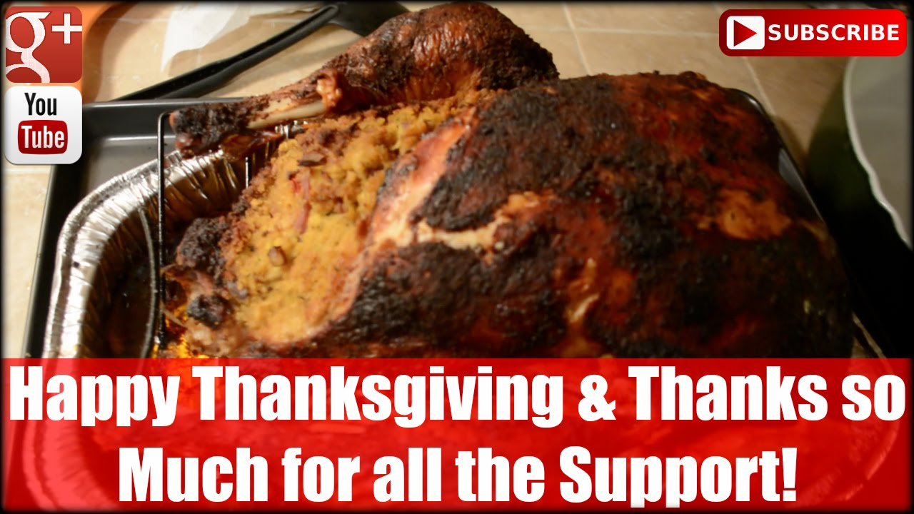 Happy Thanksgiving and Thanks so Much for All the Support!
