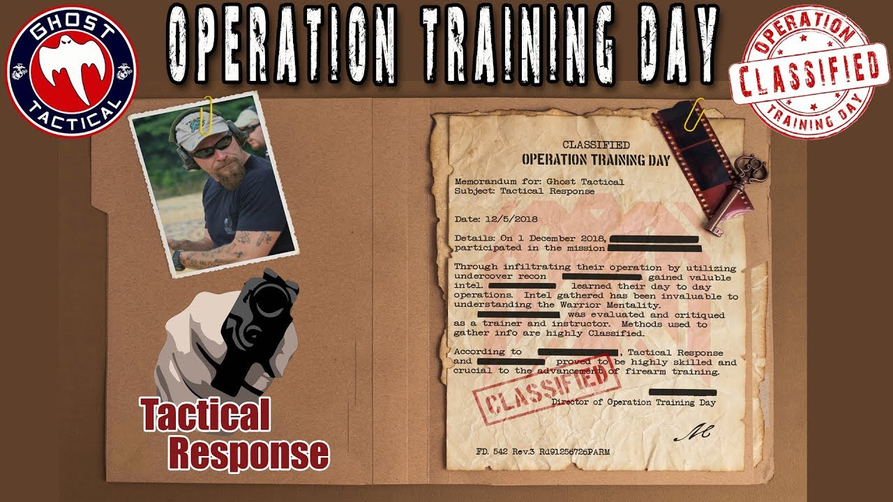 Training With James Yeager:  Operation Training Day:  Mission 1:  Tactical Response Fighting Pistol