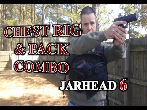 Chest Rig and Pack Combo