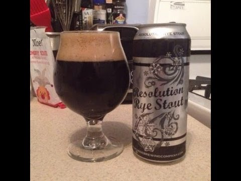 Old Forge Brewing Company's Resolution Rye Stout