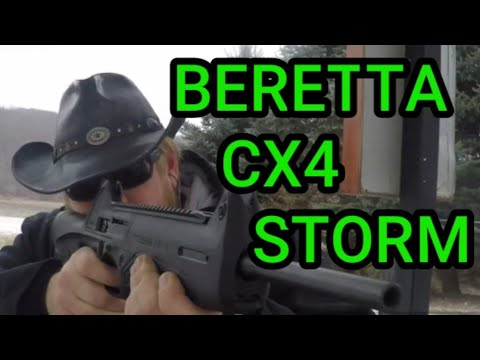 Beretta CX4 Storm Accuracy Testing Right Out of the Box