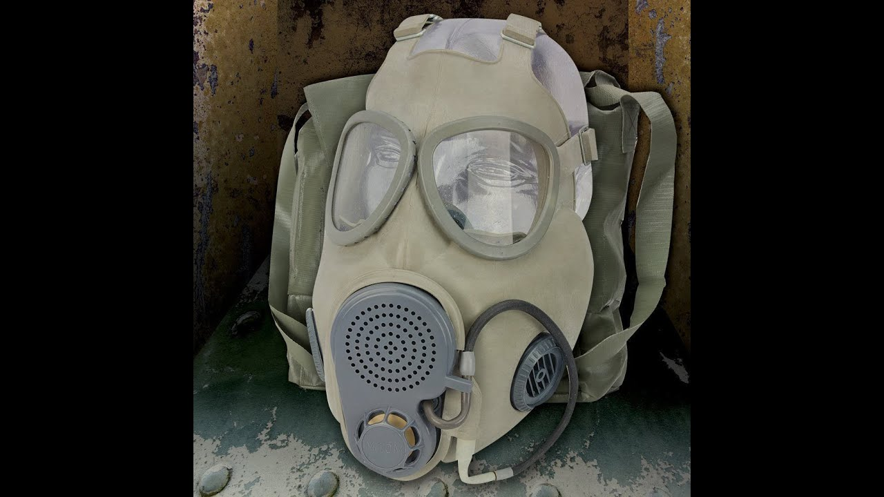 $10 Czech Gas Mask M10M Filter install and setup bought from BUDK