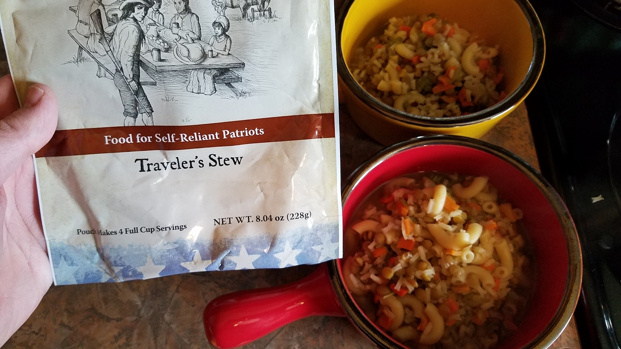 Travelers Stew from My Patriot Supply | Emergancy Prepper Food Taste Test