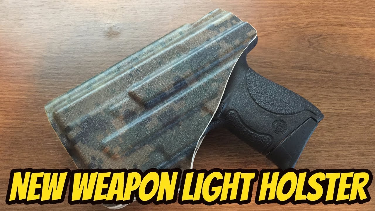 NEW M&P Shield with TLR-6 Holster| Unboxing