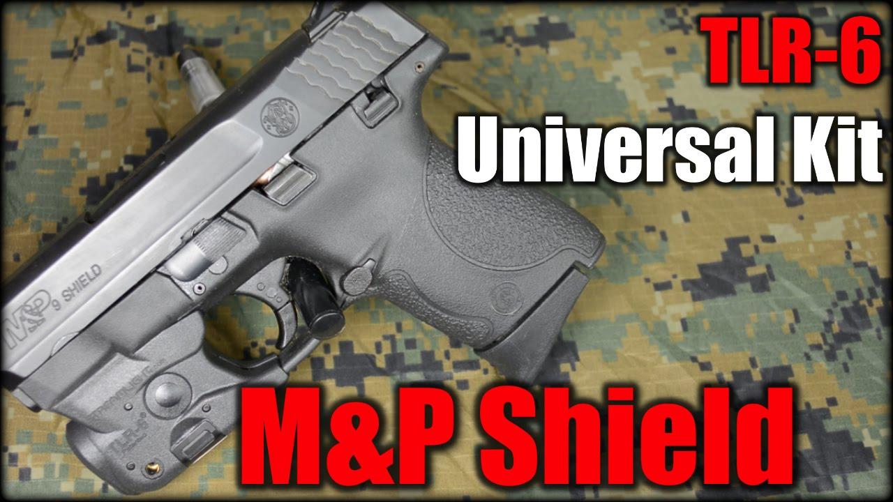Streamlight TLR-6 Universal Kit| M&P Shield