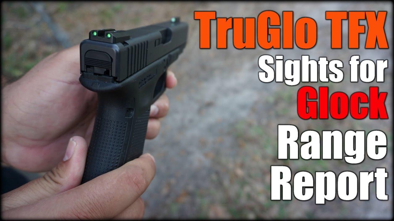 TruGlo TFX Tritium & Fiber Optic Sights for Glock| Range Report