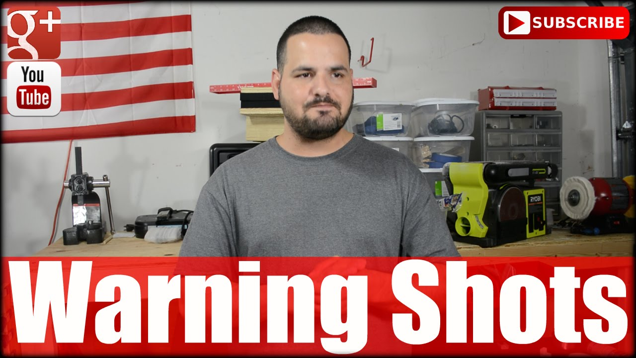 Warning Shots For Self Defense