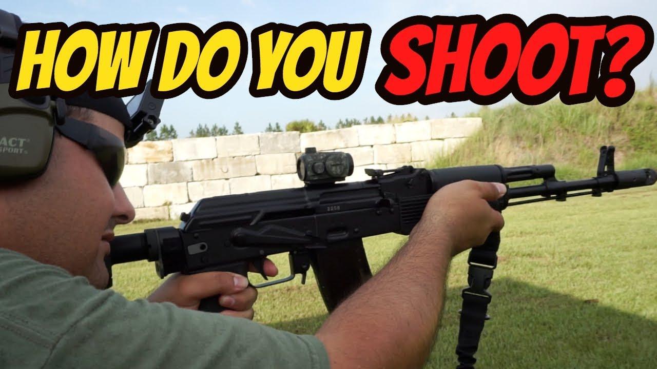 How Do you Shoot?