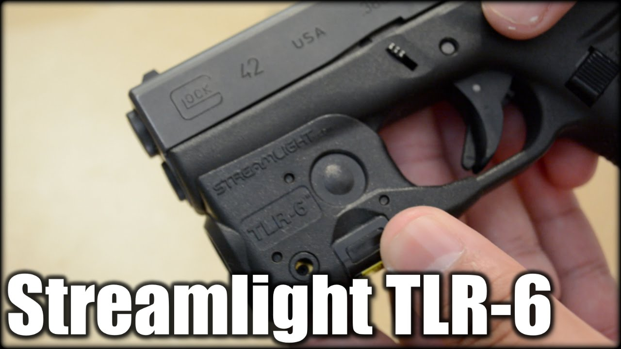 Streamlight TLR-6 Light & Laser| Glock 42 & 43