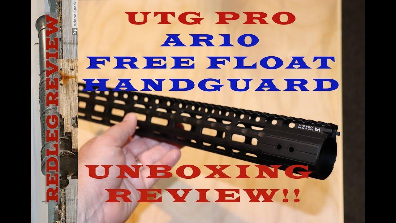 UTG PRO .308 Super Slim Handguard Overview
