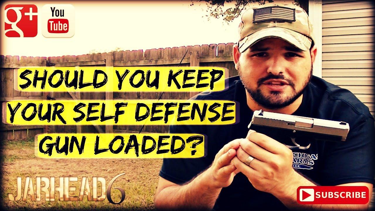 Should You Keep Your Self Defense Gun Loaded?