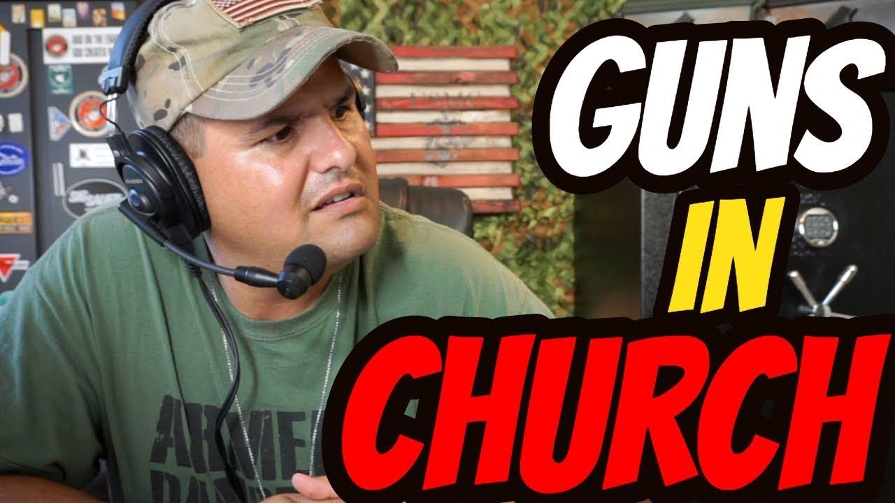 Guns in Church!