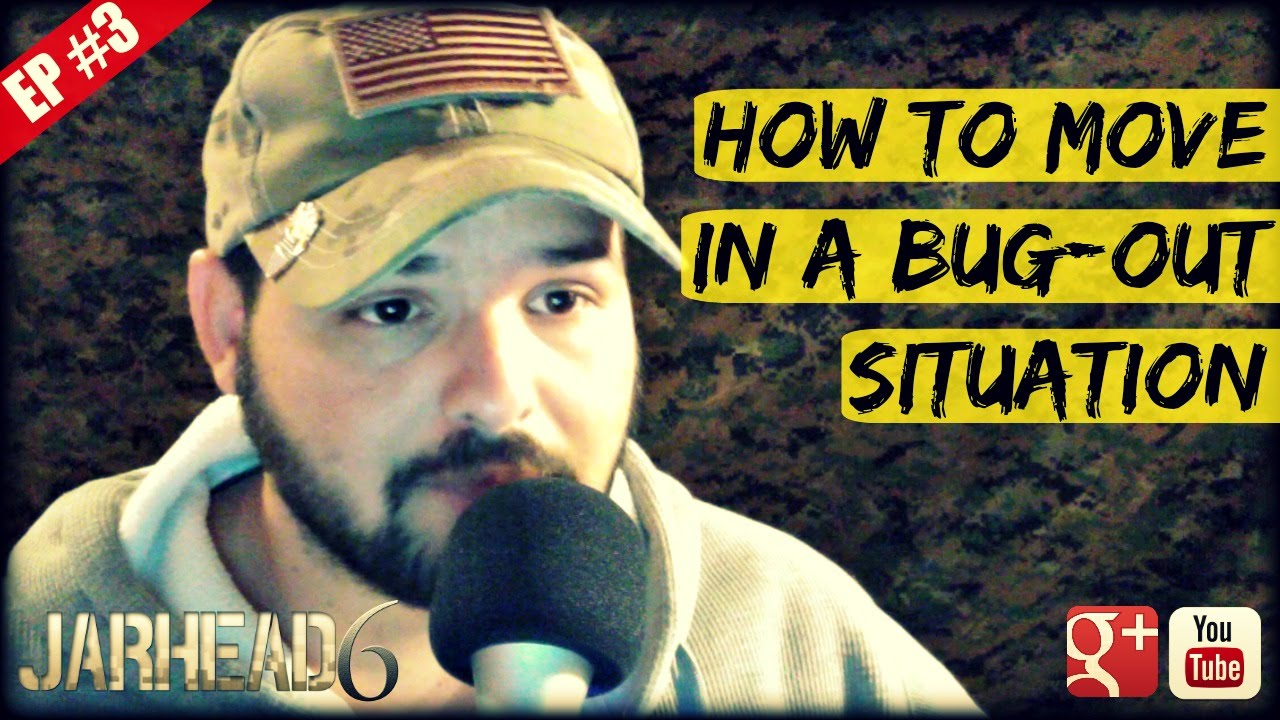 How to Move in a Bug-out Situation (Radio Show: EP #3)