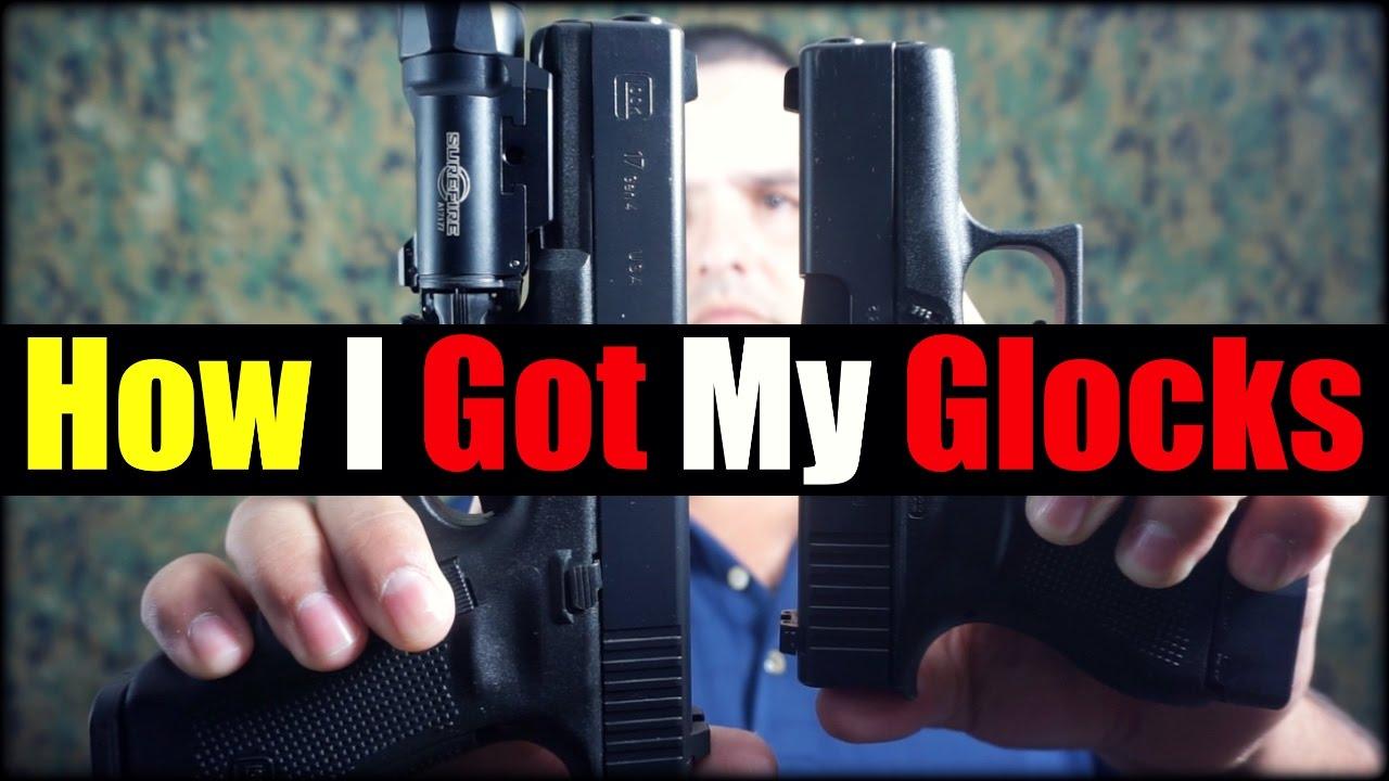 How I Got ALL My Glocks| Blue Label