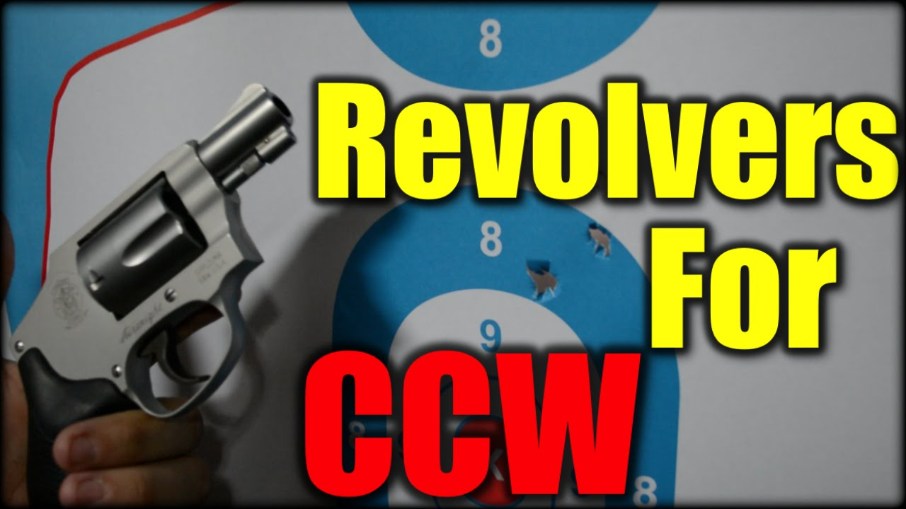 Revolvers for Concealed Carry| New Shooter Series