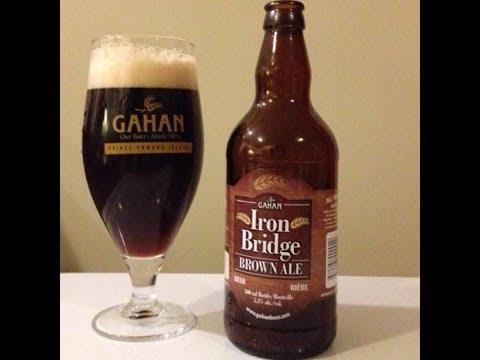 Iron Bridge Brown Ale from Gaham Brewery