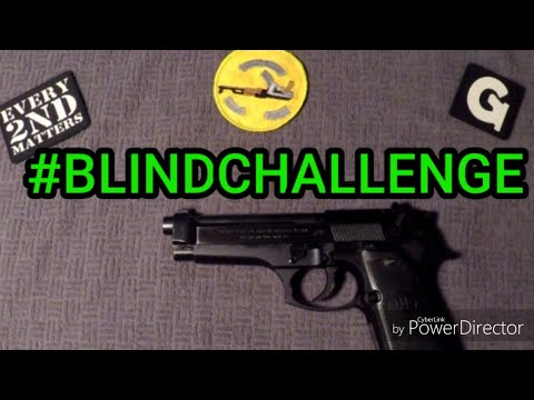How to Field Strip Beretta 92FS While Blindfolded