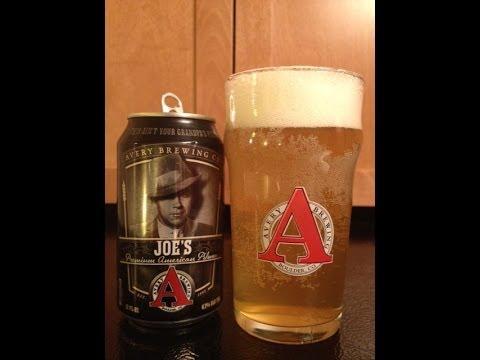 Joe's Premium American Pilsner from Avery Brewing Co