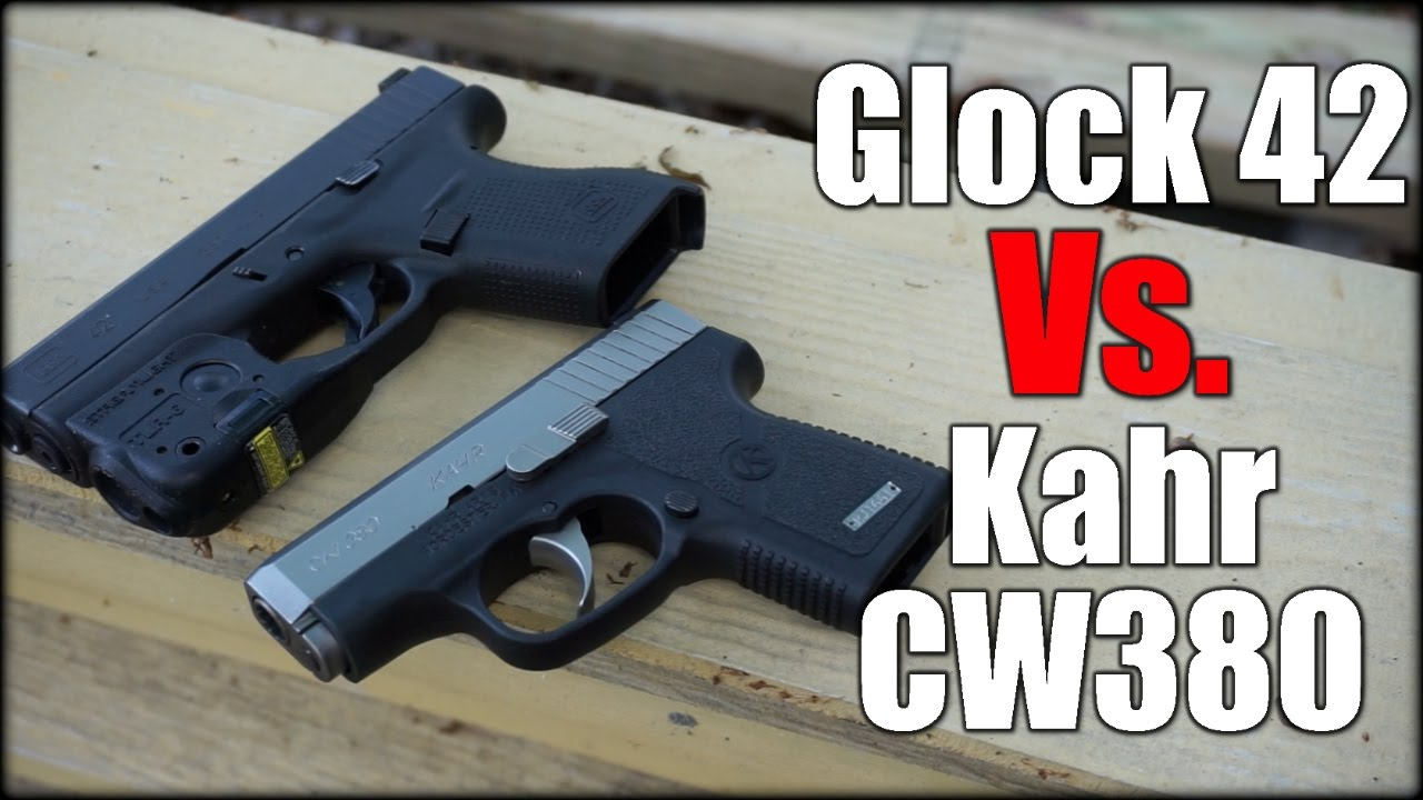 Glock 42 Vs. Kahr CW380| Best 380 ACP