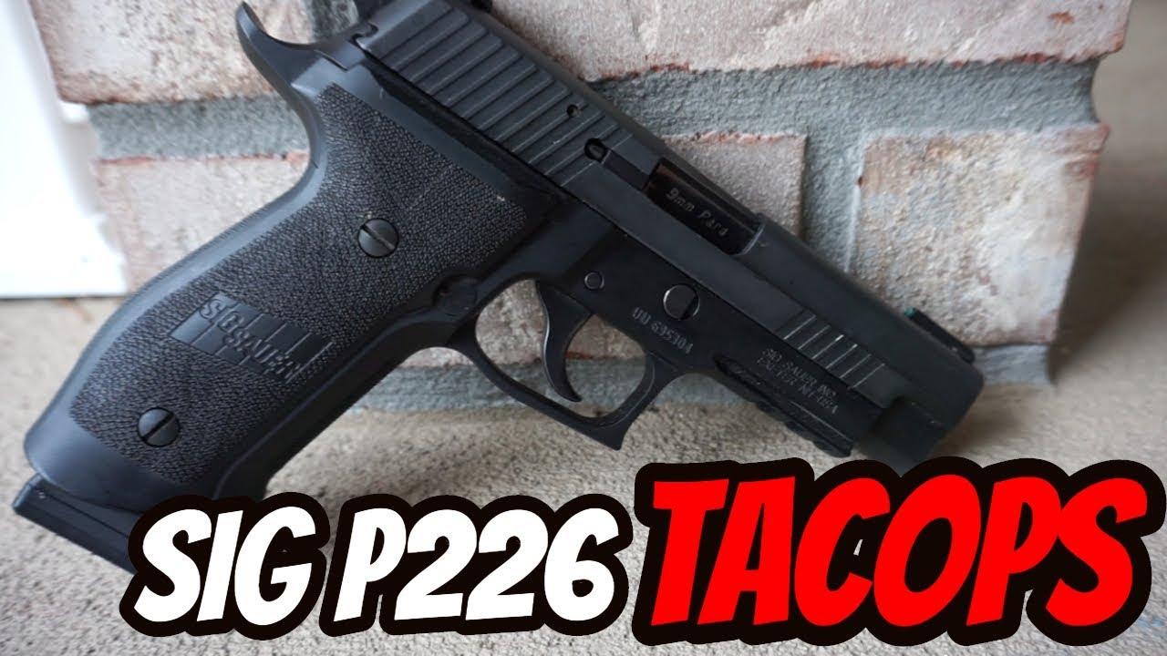 Sig Sauer P226 Tacops| First Look