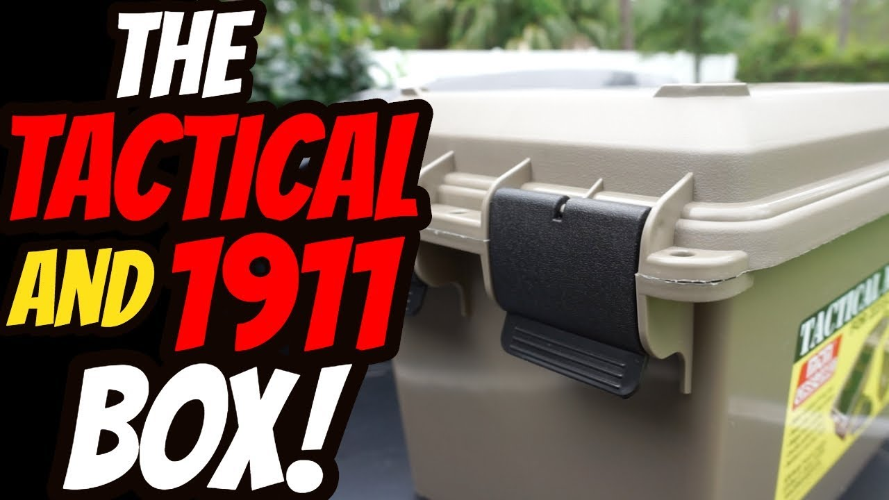 The Tactical & 1911 Box!