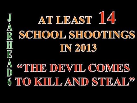 At Least 14 School Shootings in 2013