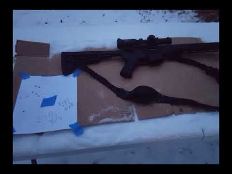 Shooting 200 yards with Ruger 556 MPR AR-15