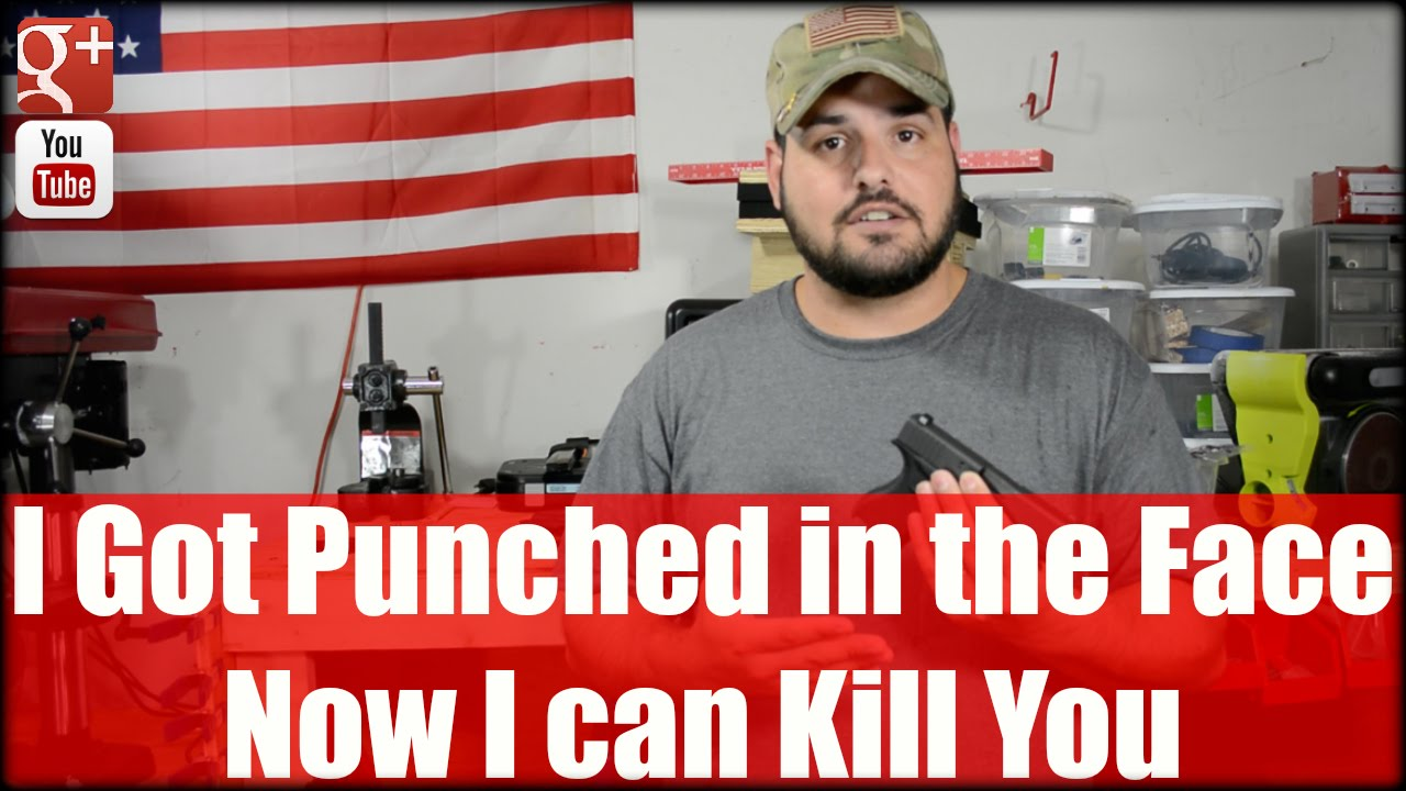 I Got Punched in the Face, Now I can KILL YOU!