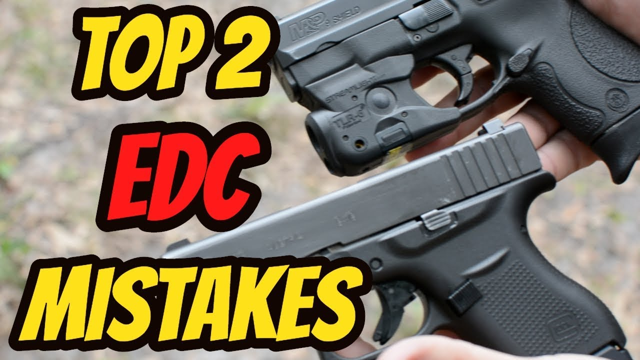 Top 2 Everyday Carry Mistakes| New Shooter Series