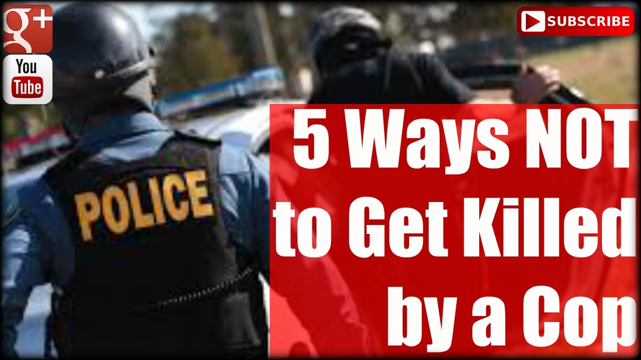 5 Ways NOT to Get Killed by a Cop: Active Shooter