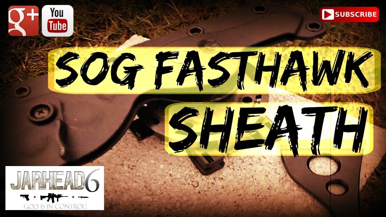 SOG Fasthawk Molded Hard Nylon Sheath