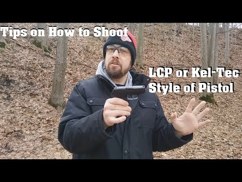 Tips on How to Shoot an LCP or Kel-Tec Style of Pistol
