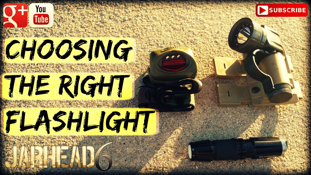 Choosing the Right Flashlight (EDC, Home Defense, Etc)
